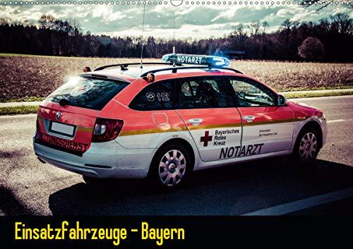 Einsatzfahrzeuge - Bayern (Wandkalender 2021 DIN A2 quer)