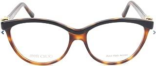 JIMMY CHOO Eyeglasses 102 0JN1 Black Tortoise 53MM