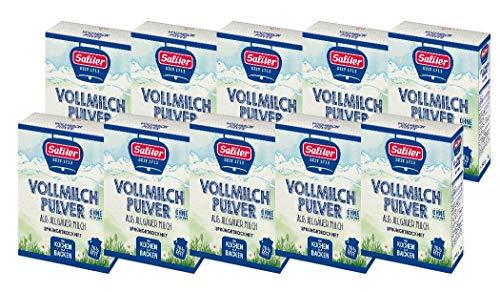 Saliter Alpen-Vollmilchpulver, 10er Karton (10 x 250g)