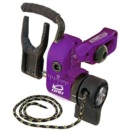 QAD Ultra-Rest Pro HDX Drop Away Left Hand Rest, Purple