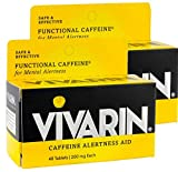 Vivarin Tablets Alertness Aid, 40 Count, Twin Pack
