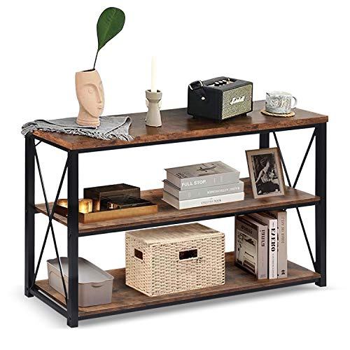 charaHOME 47''Console Sofa Table Industrial Console...