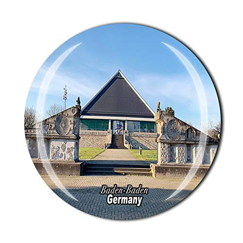 Baden-Baden Deutschland Kühlschrankmagnet Souvenir Geschenk Kristall Magnetsticker Kollektion