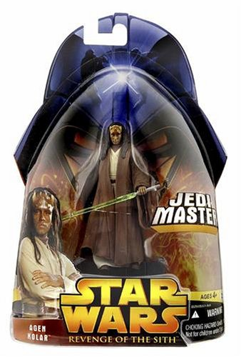 Hasbro 85294 - Star Wars: Revenge of the Sith Collection - Agen Kolar Jedi Master, No. 20