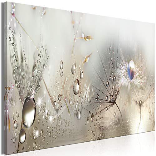 decomonkey | Mega XXXL Bilder Pusteblume | Wandbild Leinwand 170x85 cm Selbstmontage DIY Einteiliger XXL Kunstdruck zum aufhängen | Blumen Pflanzen