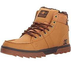 Amazon.com: DC mens Woodland snow boots