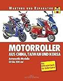 Motorroller aus China, Taiwan und Korea: Automatik-Modelle, 50 bis 200 ccm