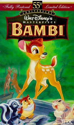 Bambi (Walt Disney's Masterpiece) [VHS]