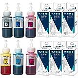 LCL Botella de Tinta Compatible C13T67314A T6731 T6732 T6733 T6734 T6735 T6736(6Pack K,C,M,Y,LC,LM) Reemplazo para Epson L800/L805/L810/L850 /L1800