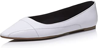 Nine Seven Women's Leather Pointtoe Flats