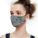 Anti Pollution Dust Mask Washable and Reusable PM2.5 Cotton Face Mouth Mask Protection from Germ Pollen Allergy Respirator Mask