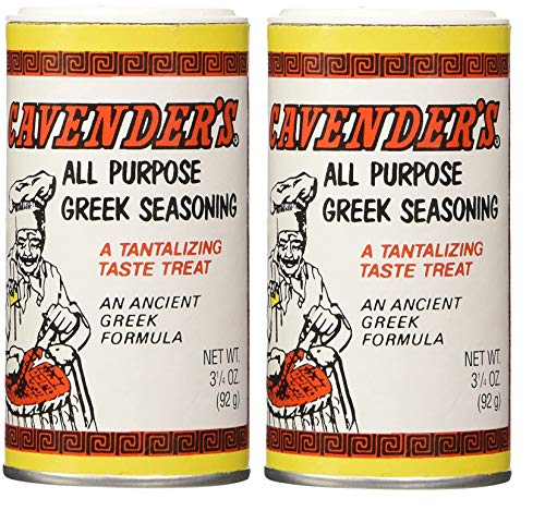 Cavender All Purpose Greek Seasoning 3.25 oz (2-Pack)