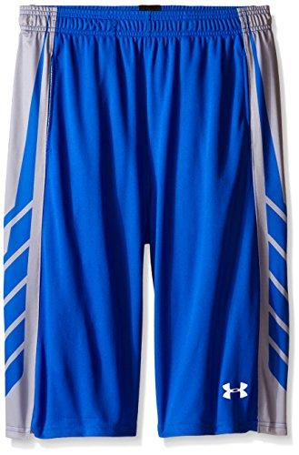 Under Armour Select Basketball-Shorts für Jungen, ultrablau/weiß, Jugendliche, klein
