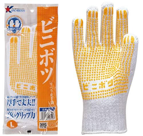 勝星産業 ビニボツ L 1双袋入り 12双セット #310 黄色