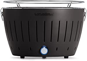 LotusGrill G-AN-34, Regular, Anthracite Grey Portable Charcoal Grill
