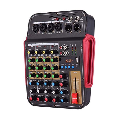 AFYH Mesas de Mezcla de Estudio, Mezclador de Audio Digital...