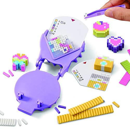 Bandai– Pretty Pixels– Krazy Pixels– Radiergummi-Fabrik– Luxus-Set– Basteln– 38531