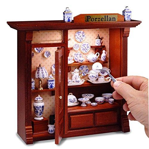 Reutter Porzellan-Beleuchtetes Wandbild Porzellanladen