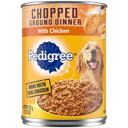 PEDIGREE Chopped Ground Dinner Adult Soft Wet Meaty Dog Food Variety Pack, (18) 3.5 Oz. Pouches Review