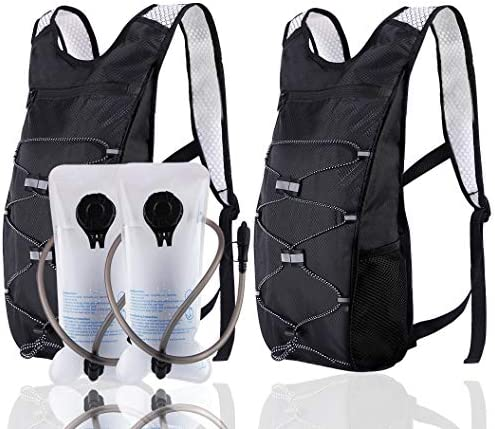 ArgoHome 2Pack Hydration Backpack with 2l Water Bladders Lightweight Waterproof Hydration Pack product image