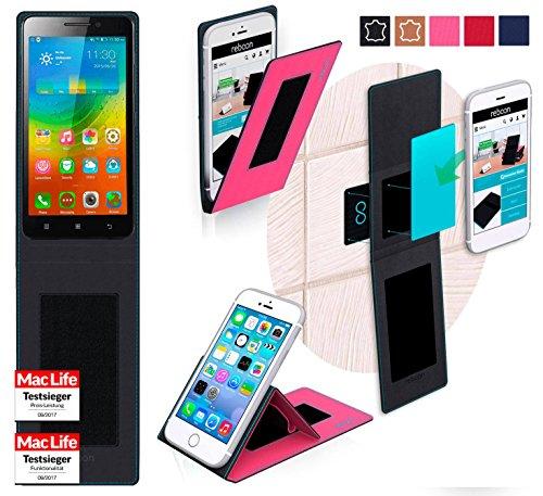 Hülle für Lenovo A5000 Tasche Cover Case Bumper | Pink | Testsieger