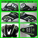 Vulturbike Kit de Pegatinas para Carenado Yamaha R6 Racing
