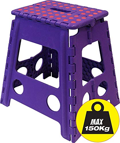 Wham Tall Folding Step Stool - 201417 - color may vary by Wham