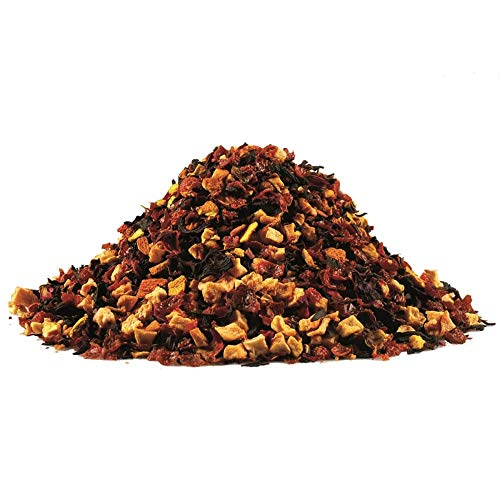Früchtetee Tee Blutorangen Mischung ✔ Früchte Tee Tea Chay lose ✔ Teemischung ✔ ohne Zusatzstoffe & Konservierungsstoffe, 100g