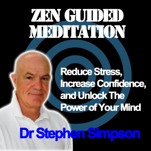 Zen Guided Meditation audiobook cover art