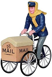 Lemax Village Collection Mail Delivery Cycle #22054