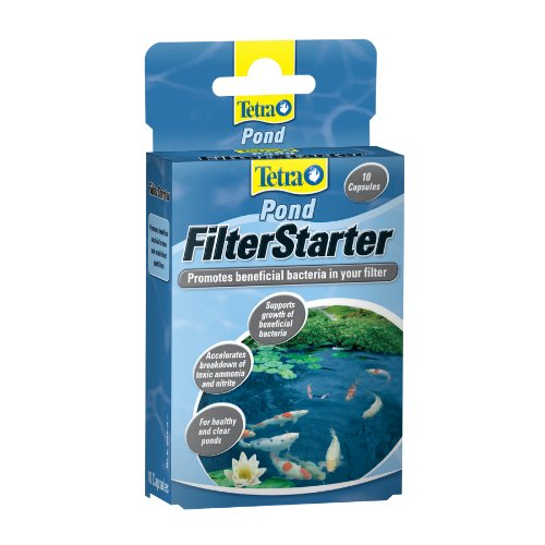 TetraPond Filter Zyme Filter Starter Tablets, 10-Count