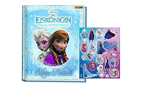 Die Eiskönigin - Völlig unverfroren Freundebuch für Mädchen (Meine Freunde) + 1 Frozen Stickerbogen