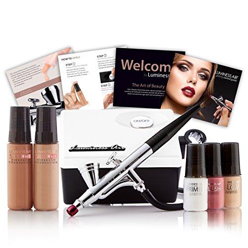 Maquillaje Con Aerografo marca Luminess Air