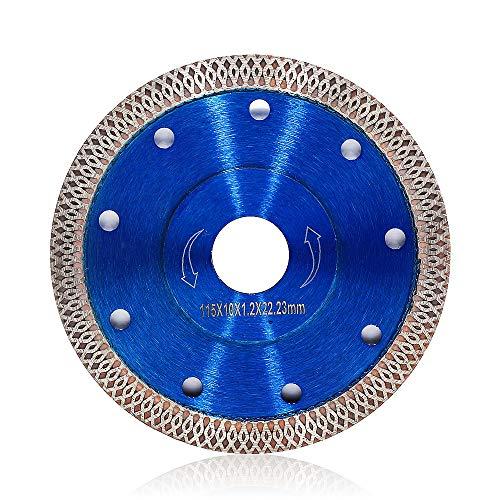 2Pcs/Lot 4.5 Inch Super Thin Diamond Tile Blade Porcelain Cutting Blade for Cutting Granite Marble Ceramics Porcelain Tiles (4.5