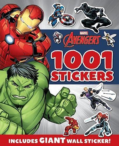 Marvel Avengers (F): 1001 Stickers (1001 Stickers Marvel)