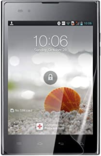 Celicious Vivid Plus Mild Anti-Glare Screen Protector Film Compatible with LG Optimus Vu P895 [Pack of 2]