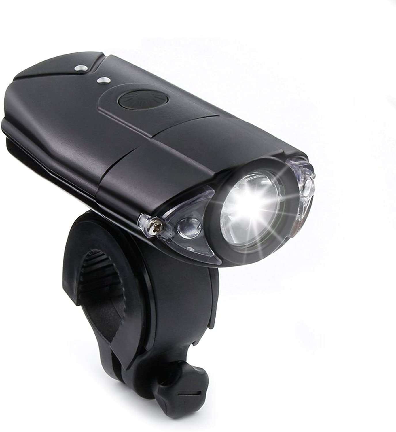Bike Headlight ThorFire USB Rechargeable Bicycle Headlamp Super Bright LED Bike Headlamp Water Resistant Bike Light Set 1200 lumen 2000mah Lithium Battery 3 Light Mode Options
