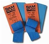 SAM® SPLINT COMBO PACK (2 ORANGE/BLUE 36' SPLINTS & 2 BLUE COHESIVE WRAP)