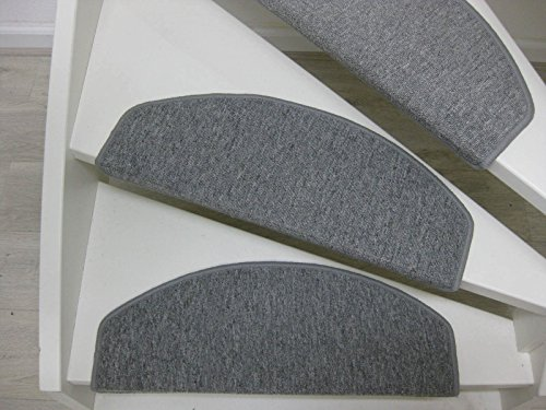 Teppichwahl Bali Tapis d'escalier (Gris)