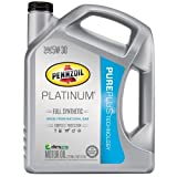 Pennzoil 550038221 Platinum 5W-30 Full Synthetic Motor Oil API GF-5