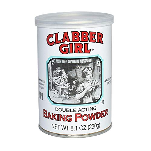 Clabber Girl Gluten Free Baking Powder 8.1 Ounce