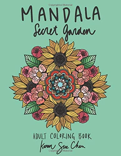 Mandala Secret Garden A Stress Relieving Coloring Book For Adults product image