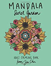 Mandala Secret Garden: A Stress Relieving Coloring Book For Adults