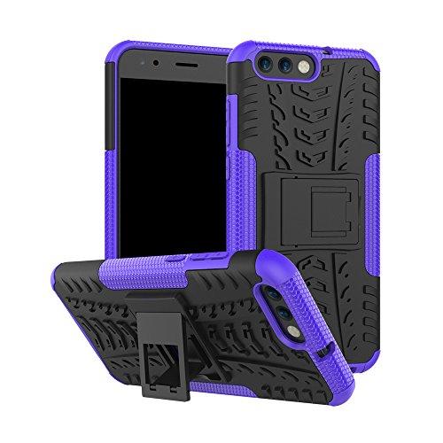 SCIMIN Capa para Asus Zenfone 4 ZE554KL, capa híbrida para Asus Zenfone 4 ZE554KL, capa rígida híbrida de camada dupla à prova de choque com suporte para Asus Zenfone 4 ZE554KL