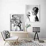 Danjiao Brigitte Bardot Französisch Mode Poster Leinwand