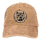 American Bully - Gorra de béisbol vintage para hombre y mujer