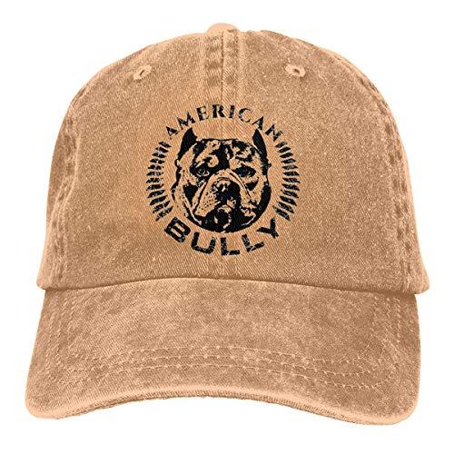 American Bully Vintage Gorra de béisbol Trucker Sombrero para hombres y mujeres