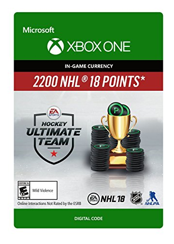 NHL 18 Ultimate Team NHL Points 2200 - Xbox One [Digital Code]