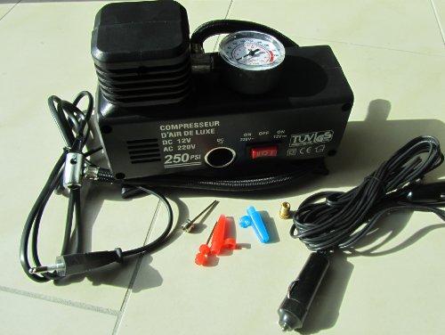 Mini compresseur pour pompe à ballon 12/220 V