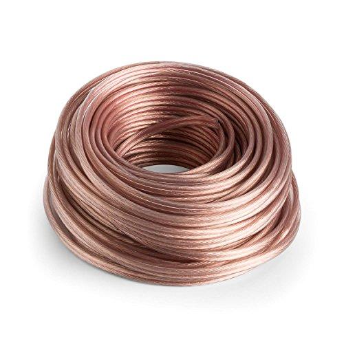 NUMAN Cable para Altavoz OFC de Cobre Puro (Ideal para HiFi y...
